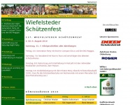 wiefelsteder-schuetzenfest.de Webseite Vorschau