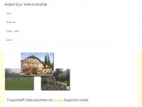 zur-hahnmuehle.de Webseite Vorschau