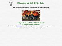 cx500c.de Webseite Vorschau