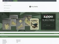 1a-militaria.de Webseite Vorschau