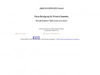 abacus-services.de Webseite Vorschau
