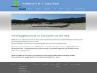 pharmsoft.de Webseite Vorschau