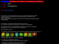 aks-holographie.de Webseite Vorschau