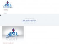 ama-elektronik.de Webseite Vorschau