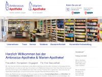 ambrosius-apotheke.de Webseite Vorschau