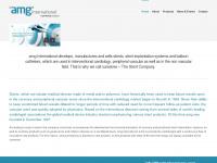 amg-erle.de Webseite Vorschau
