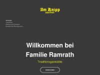 amknipp.de Webseite Vorschau
