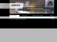 amkon-gmbh.de Webseite Vorschau