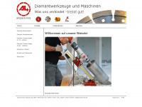 ampere-line.de Webseite Vorschau