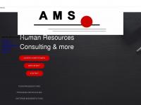ams-personal.de Webseite Vorschau