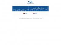 ams-trading.de Webseite Vorschau
