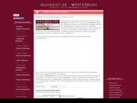 quickdict.de