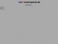 1on1-motorsports.de Webseite Vorschau