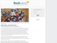 rockszene.de Webseite Vorschau