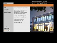 raumkonzept-muenster.de Webseite Vorschau