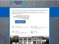 cremer-klein.de Webseite Vorschau