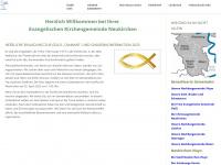 kirche-neukirchen.de Webseite Vorschau