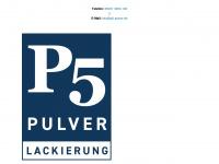 p5-pulver.de Webseite Vorschau