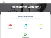 gaudium-chor.com Webseite Vorschau