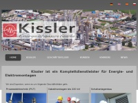 kissler.de Webseite Vorschau