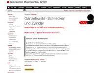 ganzelewski.de Webseite Vorschau