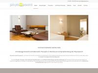 physiotherapie-in-muenchen.de Webseite Vorschau