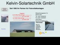 kelvin-solartechnik.de