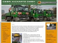 kickartz.de Webseite Vorschau