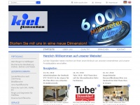 kiel-flanschen.de Webseite Vorschau