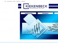 kiekenbeck.de Webseite Vorschau