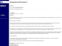 kierspermusik.de Webseite Vorschau