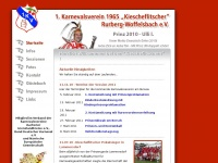 kiescheflitscher.de Webseite Vorschau