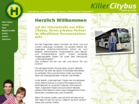 killer-citybus.de Webseite Vorschau