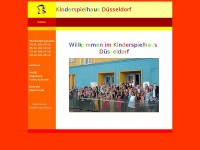 kinderspielhaus-duesseldorf.de Webseite Vorschau