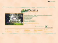 kindervilla-dorothee.de Webseite Vorschau