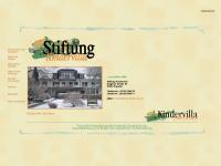 stiftung-kindervilla.de Webseite Vorschau