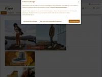 kipp-schuhe.de Webseite Vorschau