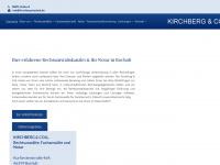 kirchberg-bocholt.de Webseite Vorschau