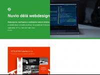 nuvio.cz Webseite Vorschau