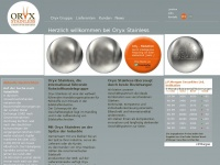 Oryxstainless.com