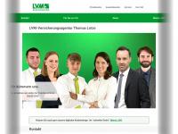 lotze.lvm.de Webseite Vorschau