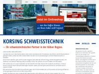 Korsing-schweisstechnik.de
