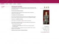 kvh-volmert.de Webseite Vorschau
