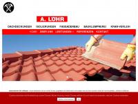 loehr-dach.de Webseite Vorschau