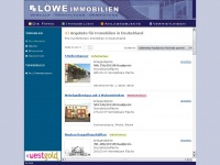 loewe-immobilien.de Webseite Vorschau