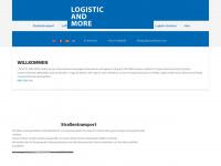 logisticandmore.com Webseite Vorschau