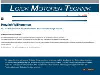 loickmotoren.de Webseite Vorschau