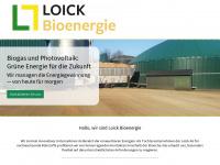 loick-bioenergie.de Webseite Vorschau