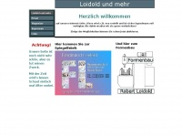 loidold.de Webseite Vorschau