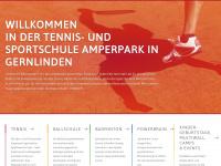 amperpark.de Webseite Vorschau